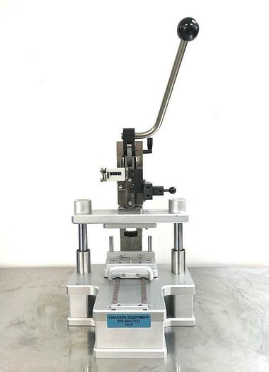 Used Gechter 2.5 HKPV Manual Toggle Press & Custom Konstruktionsbüro Bredl Jig (7578)