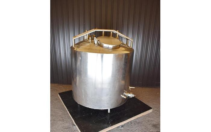USED 360 GALLON JACKETED TANK, STAINLESS STEEL