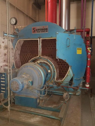 1997 Superior Boiler 250 HP 150 PSI steam  Mohawk