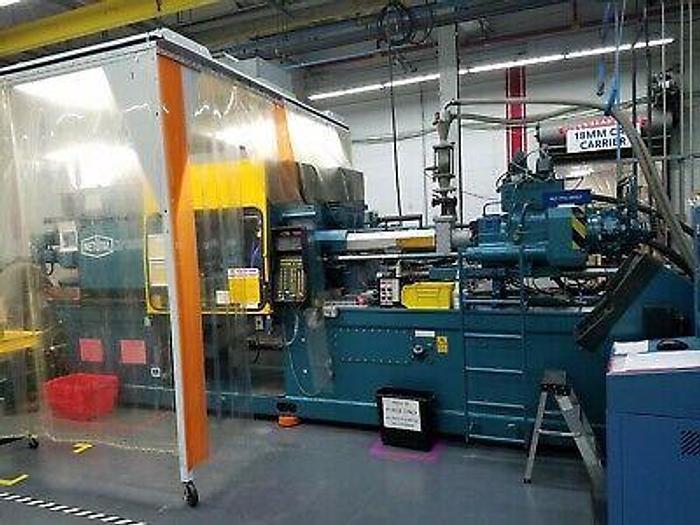 Used Netstal HP1500 150 Ton Injection Molding Machine 1995 SWISS Pristine Condition!