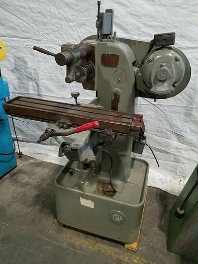 Used Nichols Miller Horizontal Milling Machine 220V 3 phase