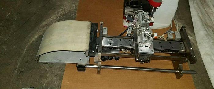 Used Electrical Connectors Assembly Machine Strip Stock In-line Automation DC Drive