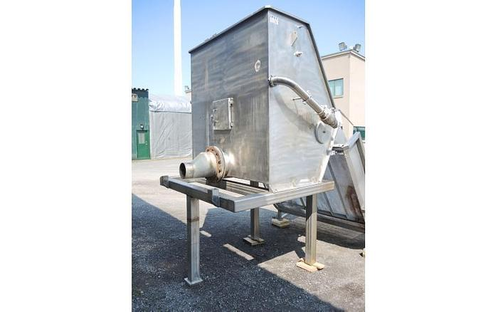 "USED IPEC SIDEHILL SCREEN, 60"" WIDE, STAINLESS STEEL"