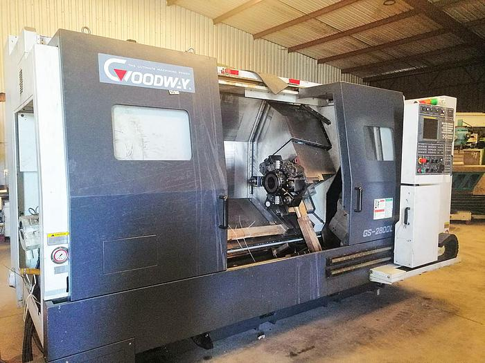 Used GOODWAY GS 2800 L YS - 2010