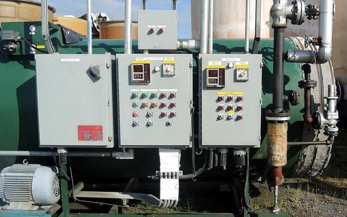 USED BOILER, HOT OIL / THERMAL FLUID HEATER, BURNER RATED @ 4.5MBTU, MAX TEMP: 500 DEG. F.