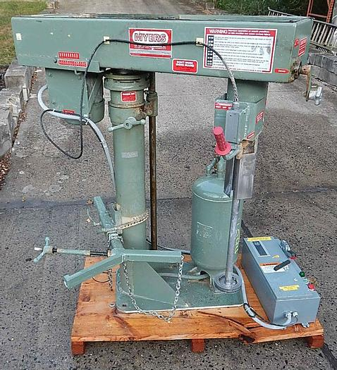 Used 5 HP MYERS HIGH SPEED DISPERSER – UL LISTED – VARIABLE SPEED (#9765)