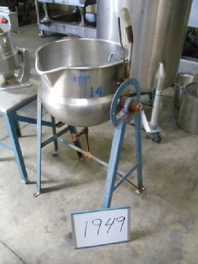 15 Gallon Jacketed Lab Kettle