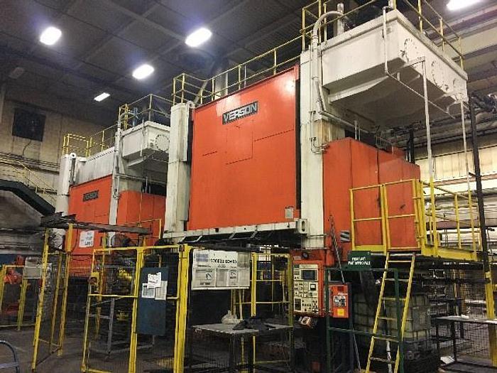 "Used 500 ton Verson 144""x96"" Hydraulic Press"