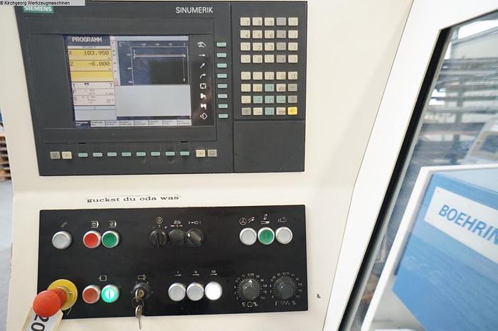 #20196 - BOEHRINGER VDF DUS 560 / Sinumerik 810 D, Baujahr 1998