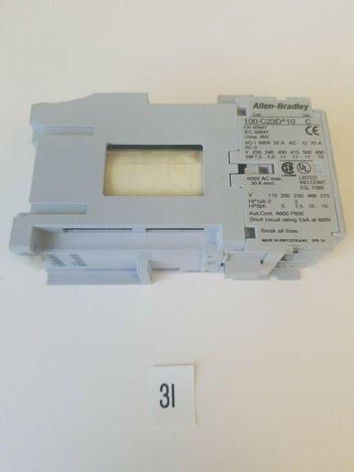 AB 100-C23D10 Allen-Bradley Contactor 23A 3P 120V Coil **NEW**