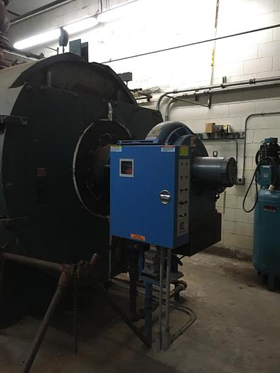 1974 York-Shipley 250 HP 15 PSI Great Green House Boiler  SPL-300-N6