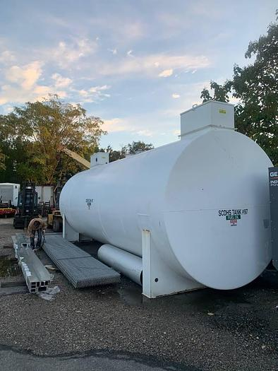 2013 15,000 Gallon Double Wall Fuel tank