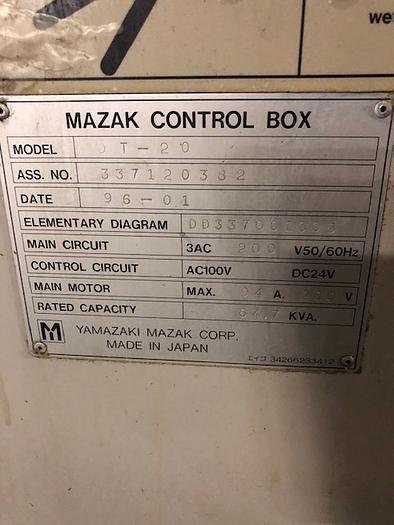 1996 MAZAK Dual Turn 20 (Twin Spindle CNC Lathe)
