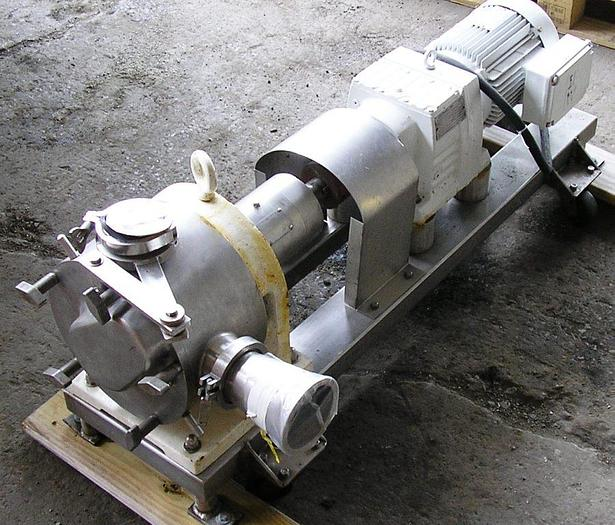 Sine Sanitary Stainless Steel Rotary Positive Displacement Pump 5  HP