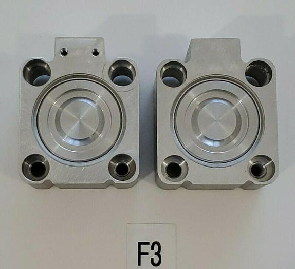 *NEW* LOT OF 2 Rexroth 0822406340 10 BAR Valve Blocks + Warranty!