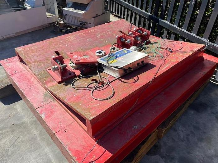 Used Fairbanks Coil Scale Model MM86260  50,000 lbs. Capacity #5790