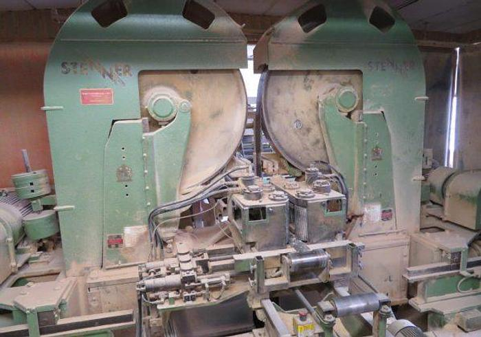 Used Dyrebo Resaw Used Resaw- line with Stenner VHET 120 dubbel bandsaw