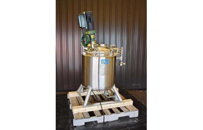 USED 26 GALLON TANK (REACTOR), STAINLESS STEEL