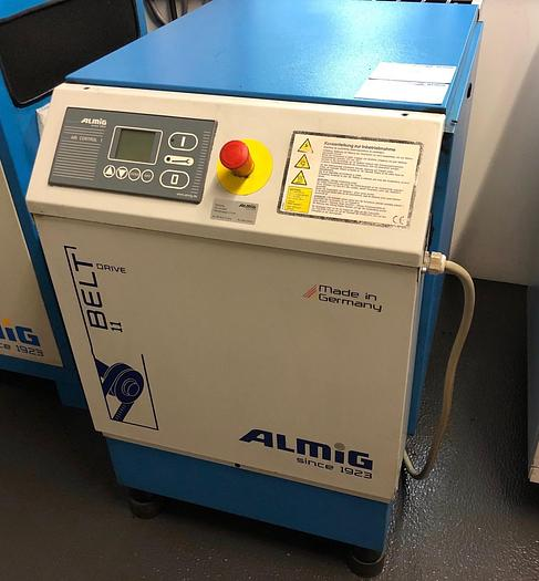 Gebraucht Schraubenkompressor  ALMIG BELT 11-10