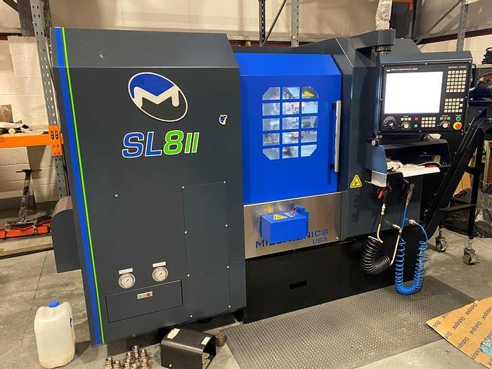 Used 2019 Milltronics SL8-II Slant Bed Turning Center