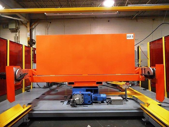 2018 FANUC DUAL ARCMATE 120iBe MIG WELDING CELL WITH DUAL SERVO DRIVEN TRUNNIONS LIKE NEW CONDITION