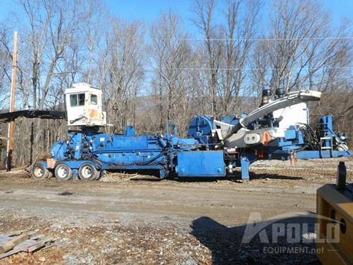 Used 2002 Peterson Pacific 5000G Whole Tree Chipper