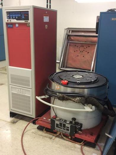 Used Ling Dynamic Systems LDS V860 24 Vibration Tester Shaker 6,300# Force