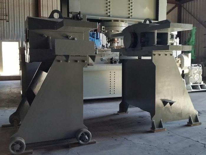 Used 660 Ton Horizontal Wheel Press