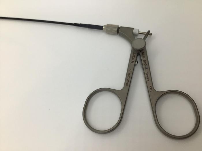 Storz Flexible grasping forcep,5fr x 73cm single action 27023FE