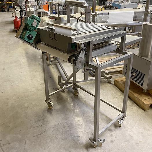 Gebraucht gebr. Trüffelkugelaufleger mit ca. 470 mm Arbeitsbreite und 10 Produktreihen.