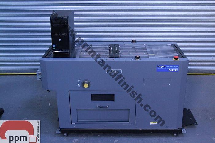 Used Duplo SCC Scoring Creasing & Cutting Unit