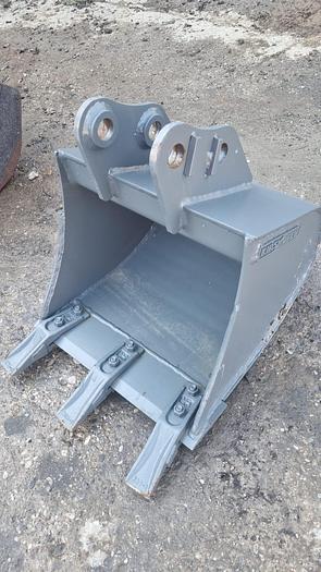 Gebraucht Kinshofer 40 cm Tieflöffel mit Zähne
