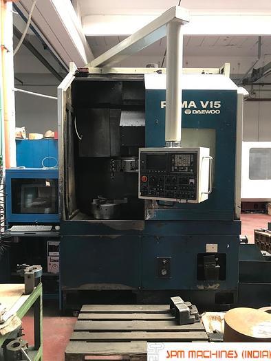 1997 Daewoo  V15 CNC VTL (Original CNC VTL)