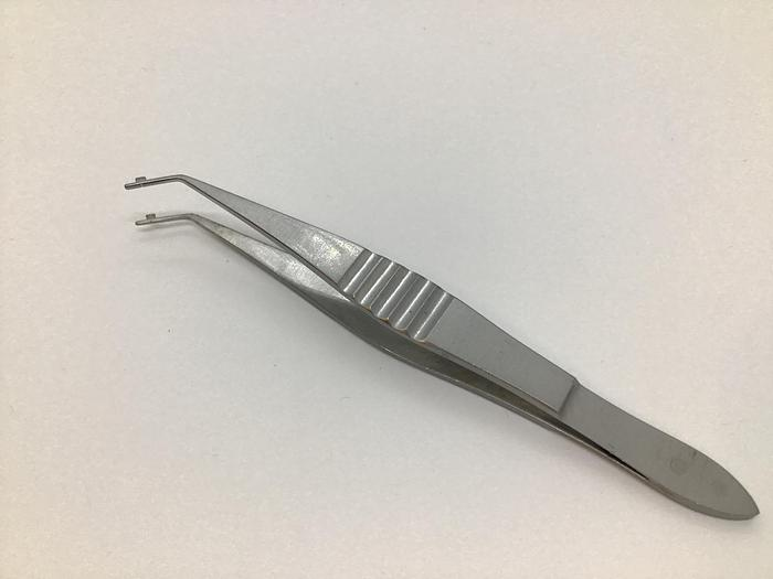Used Weiss IOL folding forceps 108mm 0101593