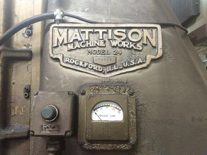 """1959 Mattison 42"""" Mattison Grinder"""