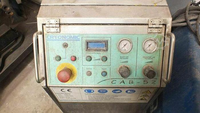 Used 2011 CRYONOMIC  CAB 52 DRY ICE CLEANER