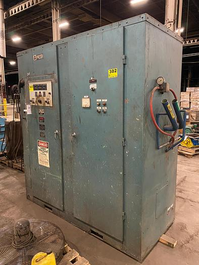Used 1991 AJAX MAGNETHERMIC 4000 LB 500KW 1KHZ PACER-I  INDUCTION FURNACE