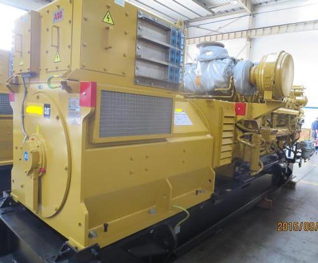 2 MW 2012 New Caterpillar 3516C New Diesel Generator
