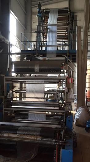 Used ZOCCHI – FILM EXTRUSION LINE (HDPE-LDPE)- type 65-30D-HD-1,400
