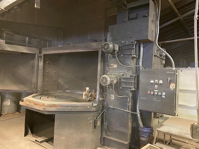 Used 2000 Wheelabrator 7 FT Table