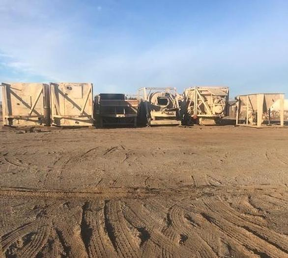 Used Ross USA Portable Central Mix Concrete Batch Plant