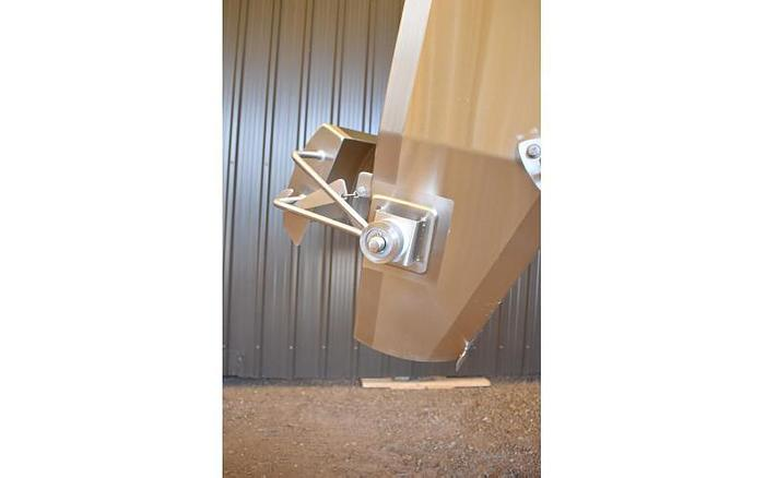 USED STAINLESS STEEL DIVERTER CHUTE
