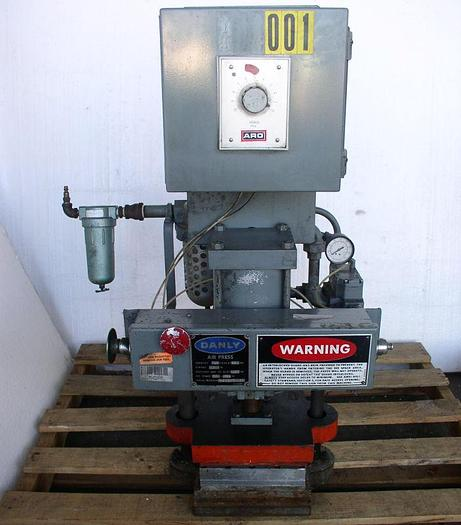 Used Danly Pneumatic Press; S/N 80-S-9474-03