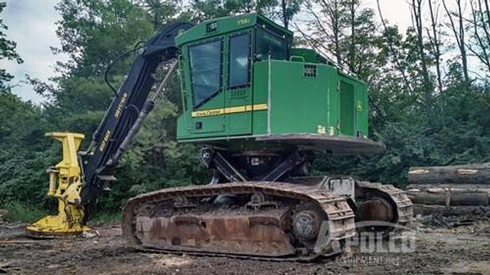 Used 2012 John Deere 759J Tracked Feller Buncher