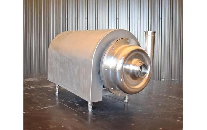"USED AMPCO CENTRIFUGAL PUMP, 2"" X 1.5"", STAINLESS STEEL, SANITARY"
