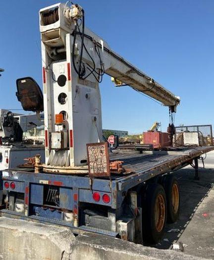 Used Versatel 300-35 Trailer Crane