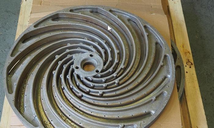 Gebraucht 7 Stück Kohlschneide - Scheiben für Jung/Niko Kohlschneider - Sauerkrautherstellung