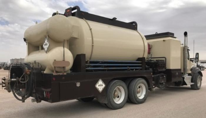 2015 Kenworth Used Hot Oil Truck