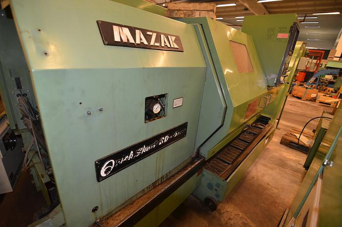 Used MS52 - Mazak QUICK SLANT 30 - 4 axis