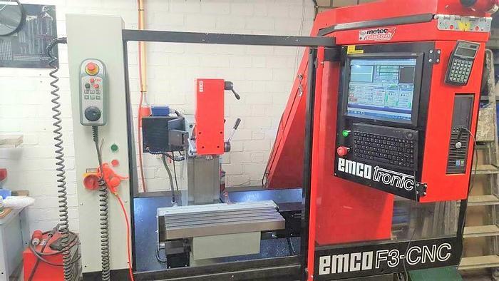 Used EMCO F3 CNC